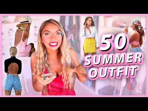 50 SUMMER OUTFIT IDEAS!!!