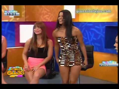 Giannina Lujan en Cuestionario Hot [04-10-2012]