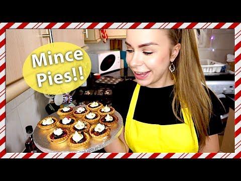 German Girl Makes British Mince Pies!