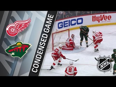 Detroit Red Wings vs Minnesota Wild – Mar. 04, 2018 | Game Highlights | NHL 2017/18. Обзор