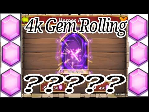 4k Gem Rolling Castle Clash Age Of Legends