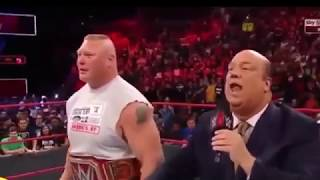 WWE Best Matches   Brock Lesnar vs  Braun Strowman   WWE Raw Highlights july 2018