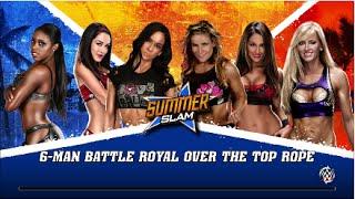 WWE 2K15 | Diva Battle Royal (Xbox One)