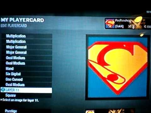 How To Make Cool Black Ops Emblems Superman Emblem Youtube