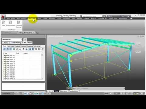 Part 1  AutoCAD Structure Detailing