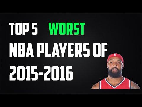 Top 5 WORST NBA Players of 2015-2016!