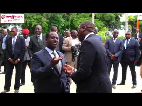 Mise au point entre Soro Guillaume et Hamed Bakayaoko au pal