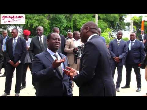 Mise au point entre Soro Guillaume et Hamed Bakayaoko au palais de la présidence