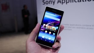 Sony Xperia Z1 Compact First Look! [CES 2014]