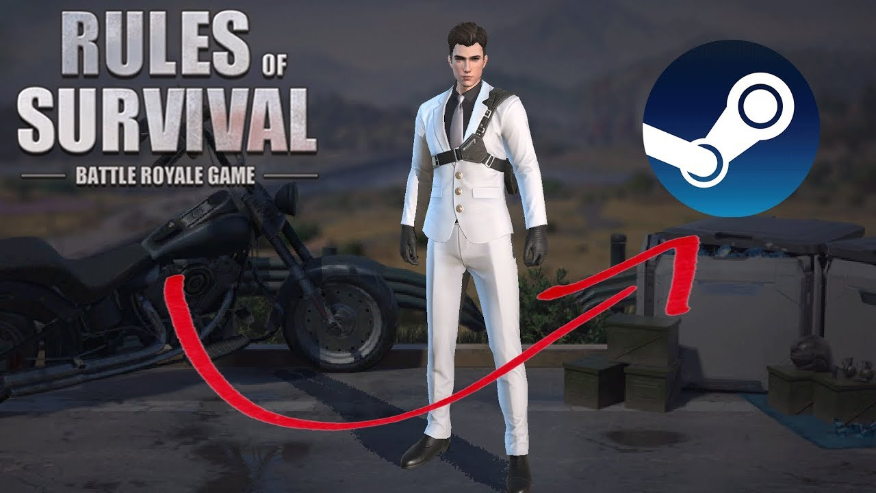 Steam = No More Hackers! (Rules of Survival: Battle Royale #122)