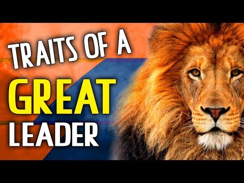 The Traits of a Great Leader
