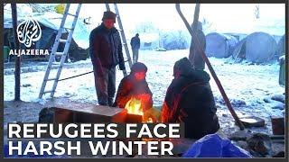 Refugees brace for harsh winter on Bosnia-Croatia border