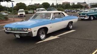 Solent Renegades Cruise 21:8:16 American Classic/Muscle Cars