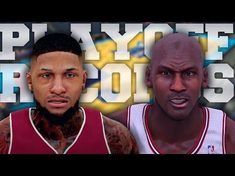NBA 2K16 MyCAREER S2 Playoffs - BREAKING MICHAEL JORDAN PLAYOFF RECORDS!!