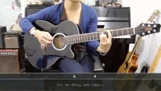 Dạy Học Guitar] [Đệm Hát] [Điệu Ballad]   Xin Anh Đừng   Lady Killar