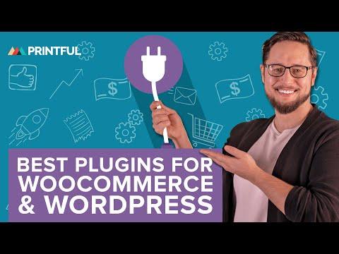 Top 10 Free WooCommerce And WordPress Plugins 2020 - Printful Print-On-Demand