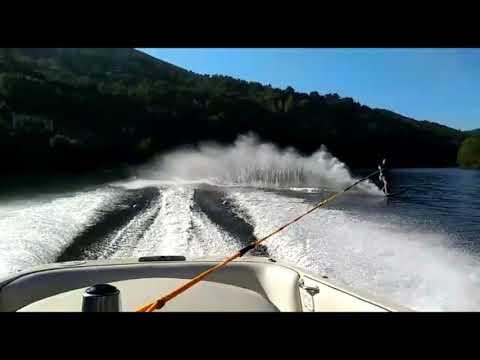 El esquí náutico se pone a prueba en Cortegada