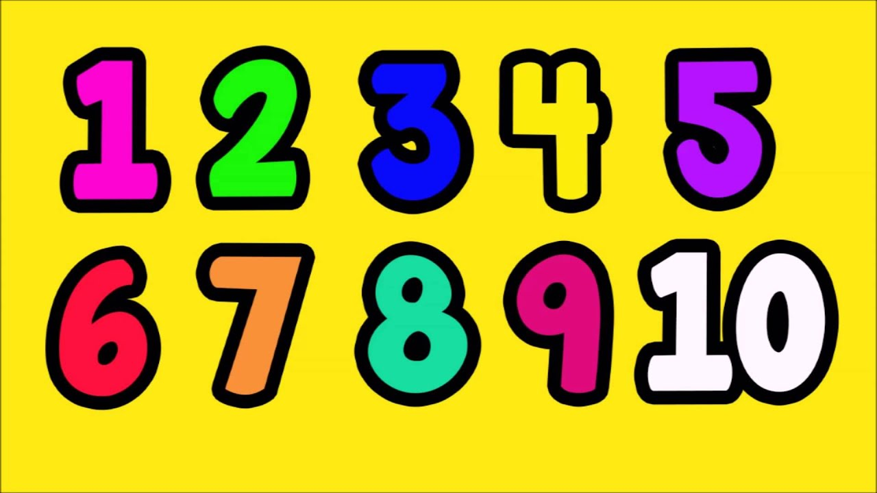 Printables Number Images 1-10 learning to count numbers 1 10 easy fun english numbers
