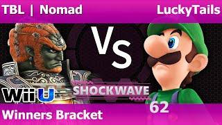 sw 63 smash 4 tbl   nomad ganon robin vs luckytails luigi dr mario winners bracket