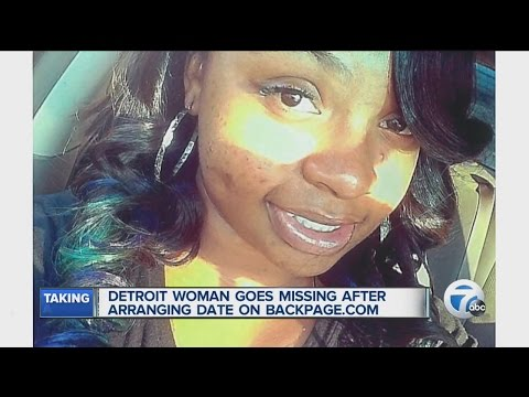 Woman Goes Missing After Backpage.com Date