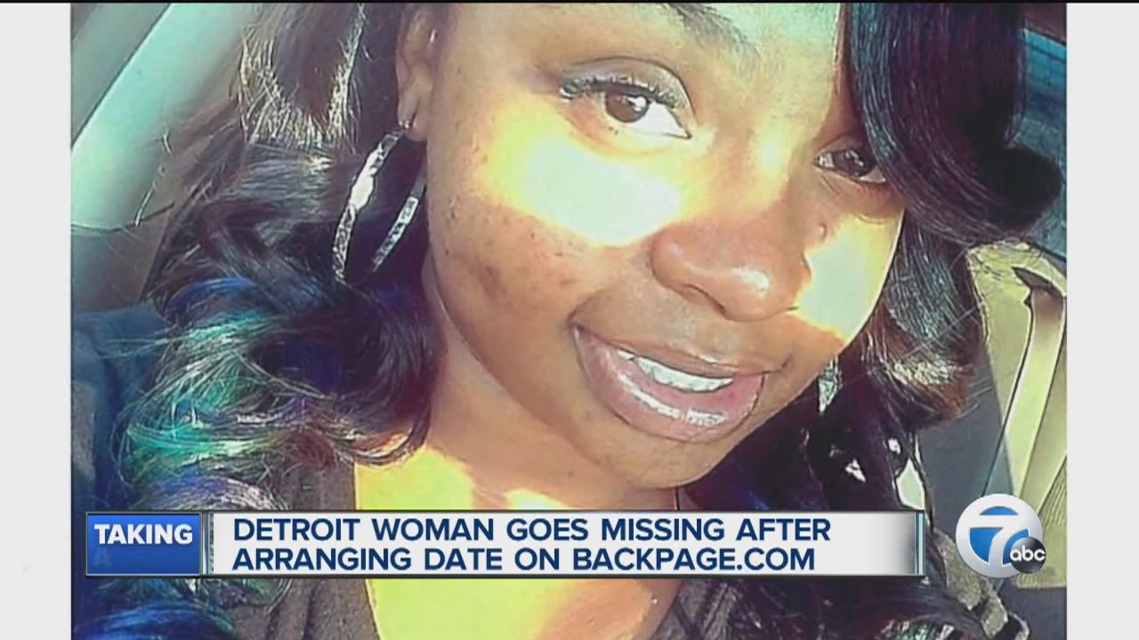 Detroit Backpage Com >> Woman Goes Missing After Backpage Com Date