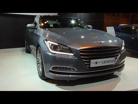 Hyundai Genesis at Madrid Motor Show 2014 | AutoMotoTV