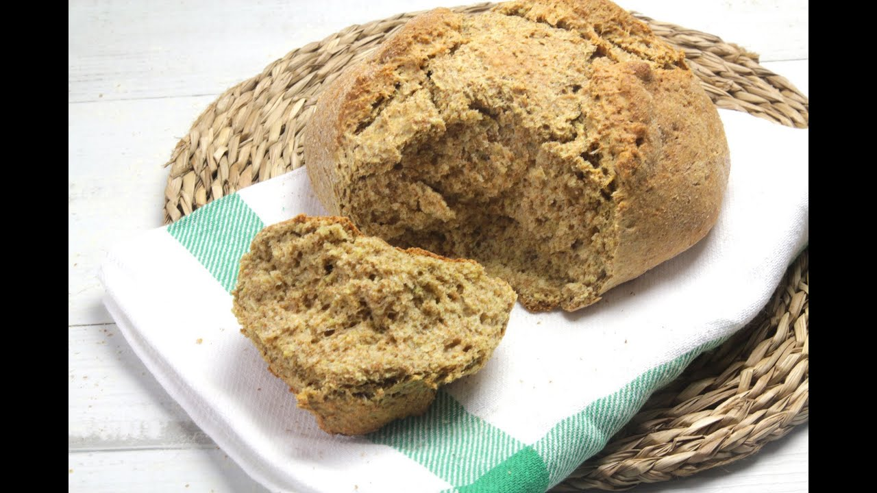como hacer pan integral en casa sin gluten
