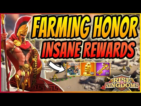 HOW TO GET HONOR IN KVK | TIPS TO FARM INFINITE HONOR FOR FREE | Rise of Kingdoms 2020 Guide