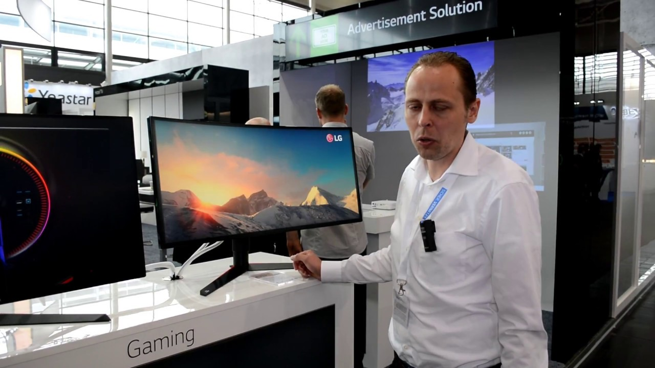 CEBIT 2018: LG Electronics zeigt 32GK650F und 34GK950G Gaming Monitore