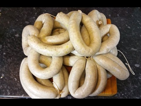 How To Make Traditional White Pudding.TheScottReaProject.