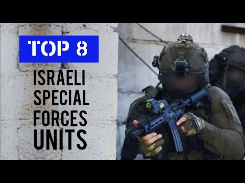 Top 8 Israeli Special Forces Units