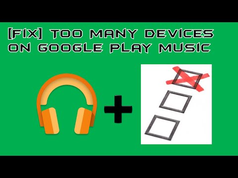 [FIX] Too many devices used with Google Music