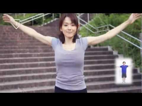美人腋ラジオ体操 01