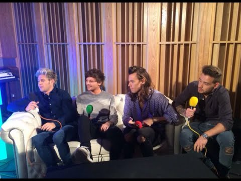 One Direction Interview on BBC 1 Live Lounge with Greg James November 12,  2015