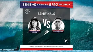 Semifinals Heat 2 FireWire E-Pro USA presented by Futures