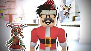 WE HAD AN INTENSE SNOWBALL FIGHT IN ROBLOX SNOWBALL FIGHTING SIMULATOR!