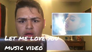 Ariana Grande - Let Me Love You (feat. Lil Wayne) - MUSIC VIDEO- REACTION