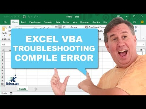 Learn Excel - Compile Error - Now What? Podcast 1820