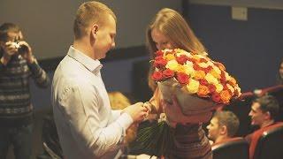 Пропозиція одруження у кінотеатрі Adrenalin City/ Marriage proposal in movie theater
