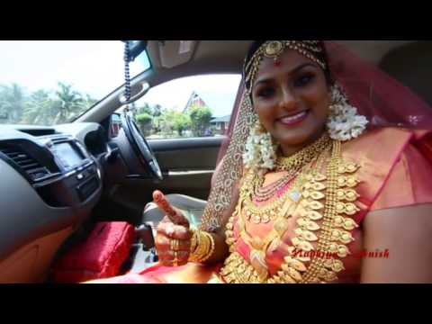 Anish and Nadhiya wedd...