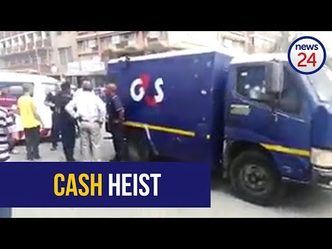 WATCH: Guard fatally wounded in North West cash-in-transit heist