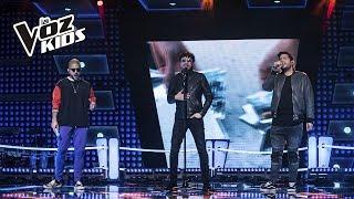 Andrés Cepeda y Cali y el Dandee cantan Te Voy a Amar  – Súper Batallas | La Voz Kids Colombia 2018