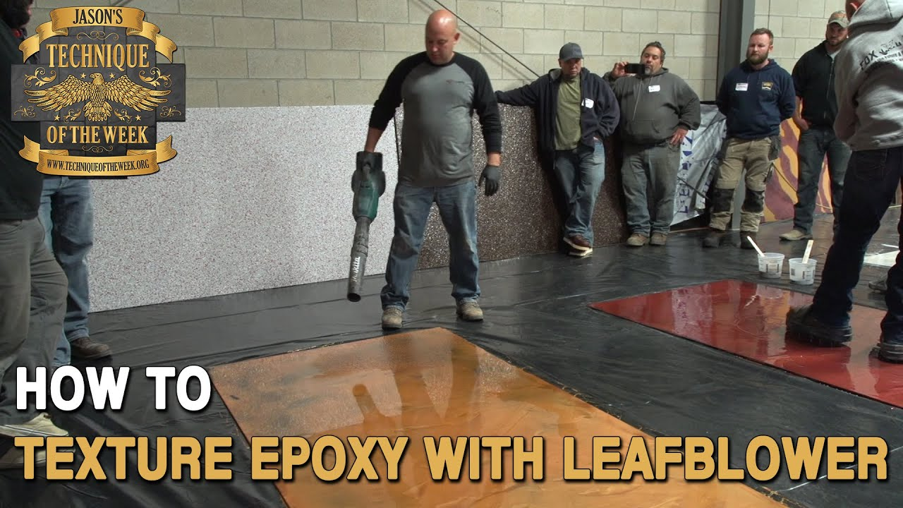Texturing Epoxy With Leaf Er You