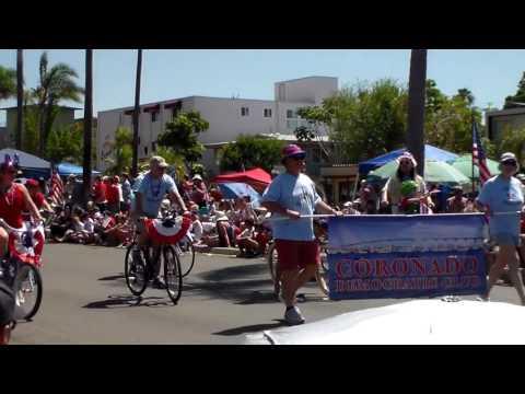 4th Of July Parade! July 4th, 2016, Coronado, California