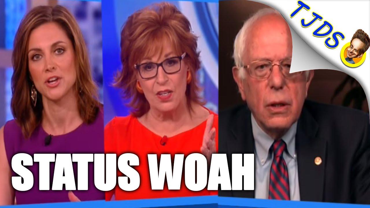 Bernie Fends Off Establishment Grilling On The View