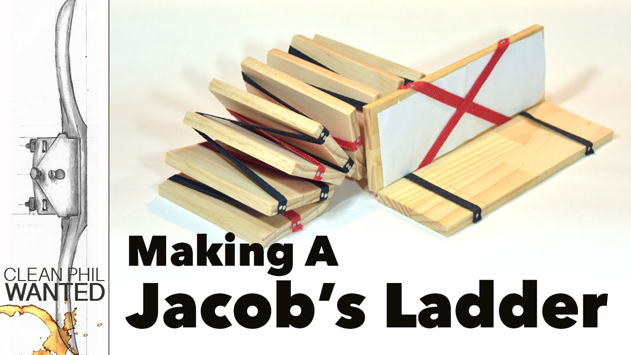 How To Make A Wooden Jacobs Ladder Toy With Hand Tools A Tutorial