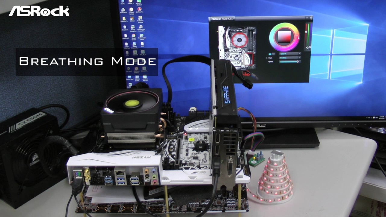 [ASRock Classroom] Synchronize AM4 Fan cooler with ASRock RGB LED!