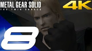 Metal Gear Solid Twin Snakes HD - Walkthrough Part 8 - Hind D Boss Fight [4K 60fps]