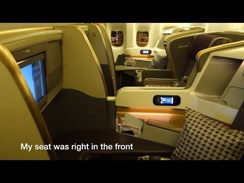 777-300ER 'New' Business Class Singapore Airlines SQ231: Singapore to Sydney