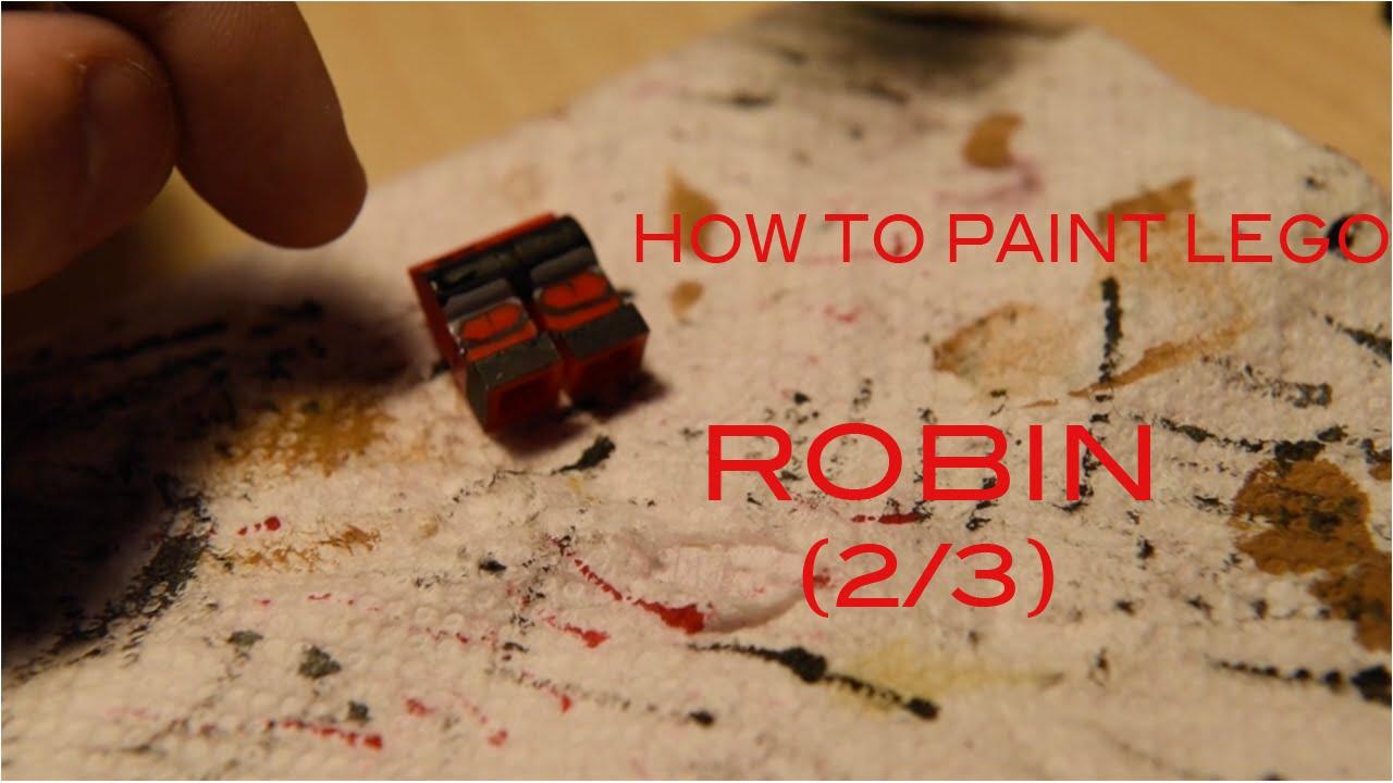 making lego customs robin arkham origins 23 legs - Cuisine En Rkham